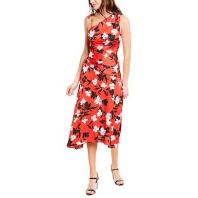ビーシービージーマックスアズリア レディース ワンピース トップス BCBGMAXAZRIA Floral Maxi Dress rosso floral