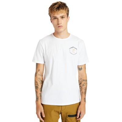 tシャツ Tシャツ メンズ 半袖 バック グラフィック Tシャツ