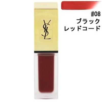イヴサンローラン YVES SAINT LAURENT タトワージュ クチュール #08 ブラックレッドコード 6ml 化粧品 コスメ