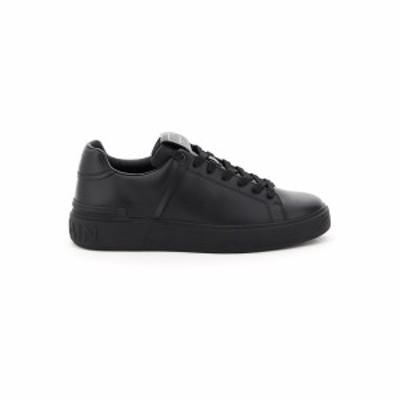 BALMAIN/バルマン スニーカー NOIR Balmain b court leather sneakers メンズ 春夏2021 VM1C244LSMM ik