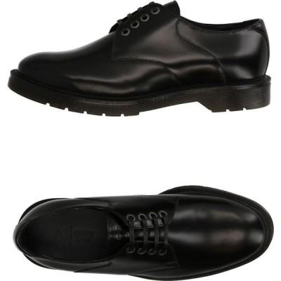 アルマーニ ジーンズ ARMANI JEANS メンズ シューズ・靴 laced shoes Black
