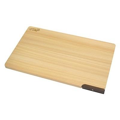 ダイワ産業 まな板 (大) 木製 ひのき 食洗機対応 軽量 スタンド付き 日本製 防カビ 撥水加工