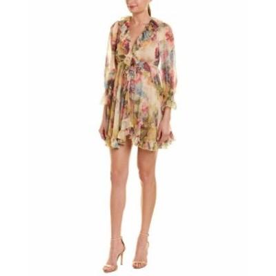 MoDA  ファッション ドレス Few Moda Floral A-Line Dress