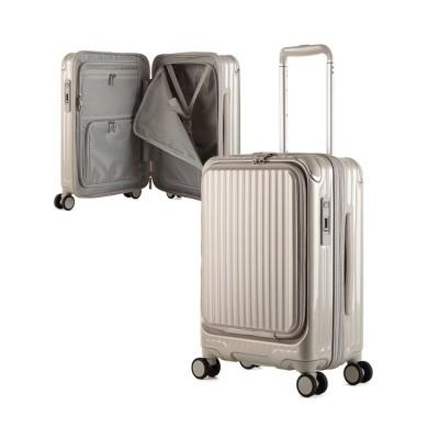 【カバンのセレクション】 カーゴ エアレイヤー スーツケース 機内持ち込み フロントオープン Sサイズ/35L ストッパー機能 CARGO AiR LAYER cat532ly ユニセックス ゴールド フリー Bag&Luggage SELECTION