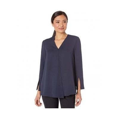NIC+ZOE ニックアンドゾー レディース 女性用 ファッション ブラウス Surface Blouse - Dark Indigo