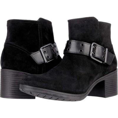クラークス Clarks レディース ブーツ シューズ・靴 Hollis Star Black Suede Combination