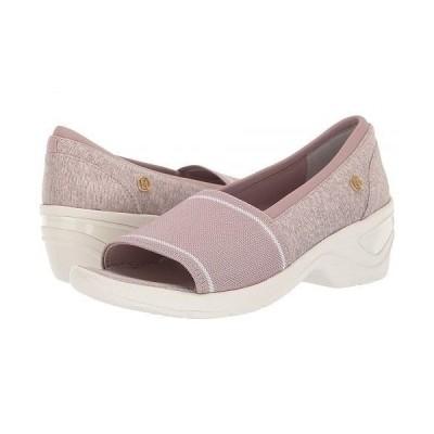Bzees レディース 女性用 シューズ 靴 ヒール Kudos - Bark Mixed Texture Fabric