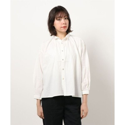 シャツ ブラウス 【 HEAVENLY /  ヘヴンリー  】 Cotton Viyella Gather Blouse 2062052・・