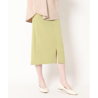 THE SHOP TK(Women)(ザ ショップ ティーケー(ウィメン)) ソフトダンボール タイトナロースカート