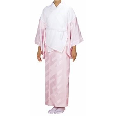 踊り衣裳【半襦袢・東スカートセット 鏡印】白×ピンク 取り寄せ商品 「日本の踊り」掲載 着付小物 着物 肌着 民