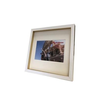 レガーロ フレーム Regalo frame フォトフレーム Gold 200x200mm(ハガキサイズマット付) 美工社