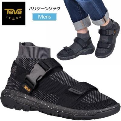 テバ サンダル Teva メンズ ハリケーンソック ブラック  1100269/25-29cm HURRICANE SOCK  正規取扱店