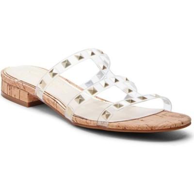 ジェシカシンプソン Jessica Simpson レディース サンダル・ミュール シューズ・靴 Caira 2 Studded Sandals クリア