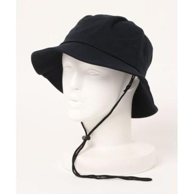 UNBILLION / スコール SQUALL / コットン着脱ドローコード付きバケットハット WOMEN 帽子 > ハット