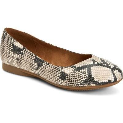 スタイル&コー Style & Co レディース スリッポン・フラット シューズ・靴 Lydiaa Ballet Flats Black/ White Snake