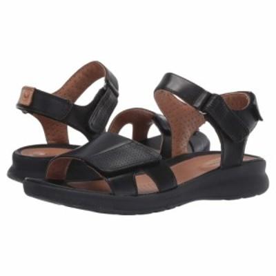 クラークス Clarks レディース サンダル・ミュール シューズ・靴 Un Adorn Calm Black Leather