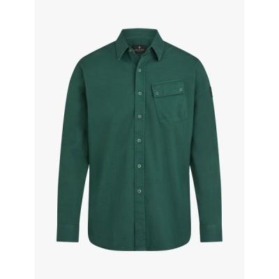 ベルスタッフ シャツ メンズ トップス Belstaff Pitch Patch Pocket Shirt