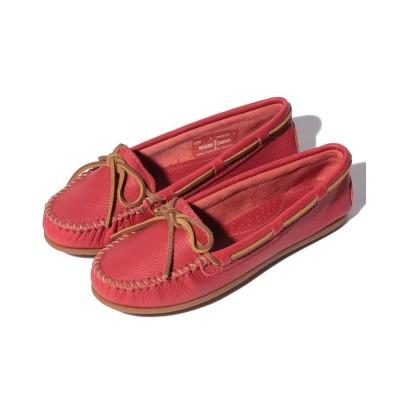 (MINNETONKA/ミネトンカ レディース)BOAT MOC Red【37110034】/レディース Red
