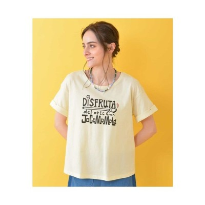 Jocomomola / Arte ロゴプリントTシャツ