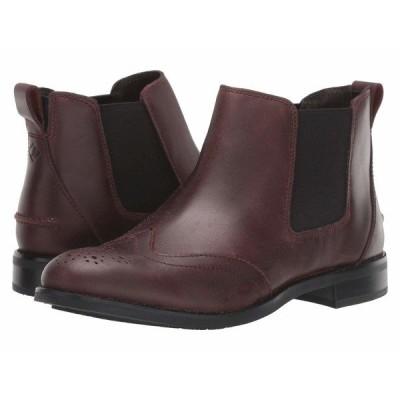 スペリー ブーツ&レインブーツ シューズ レディース Fairpoint Leather Chelsea Autumnal Brown