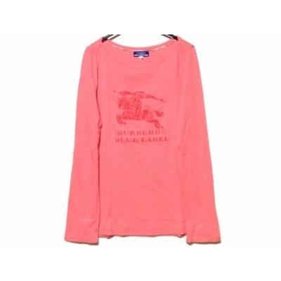バーバリーブルーレーベル Burberry Blue Label 長袖Tシャツ サイズ38 M レディース - ピンク【還元祭対象】【中古】20201006