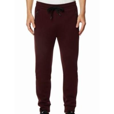 Red  ファッション パンツ 32 Degrees NEW Red Mens Size 2XL Drawstring Zip-Pocket Jogging Pants