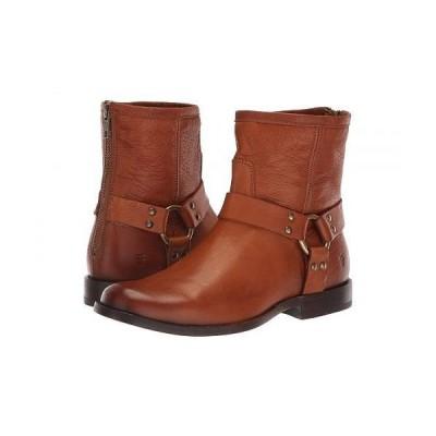 Frye フライ レディース 女性用 シューズ 靴 ブーツ ライダーブーツ Phillip Harness Short - Whiskey Soft Vintage Leather