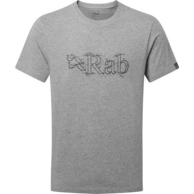 ラブ Rab メンズ Tシャツ トップス Stance Sketch Short Sleeve T-Shirt Grey Marl