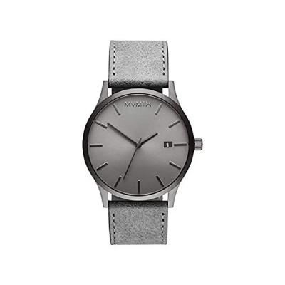 MVMT Men's Minimalist Vintage Watch with Analog Date | Monochrome