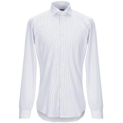 ブライアン デールズ BRIAN DALES シャツ ホワイト 40 コットン 100% シャツ