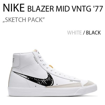 NIKE BLAZER MID VNTG '77 SKETCH PACK ブレザー スケッチ BLK CW7580-101