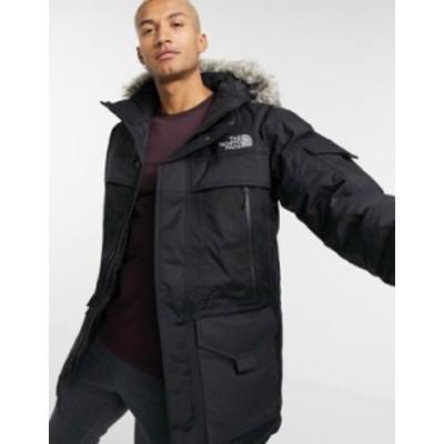 ノースフェイス メンズ ジャケット・ブルゾン アウター The North Face McMurdo 2 jacket in black Tnf black/high rise