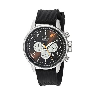 Invicta Men 's s1?Rally ' Quartzステンレススチールand Silicone Casual Watch , Color : Black ( Model : 23811?)(輸入品)