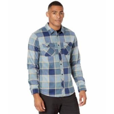 オニール メンズ シャツ トップス Glacier Plaid Shirt Navy