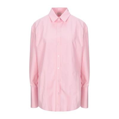 アレキサンダー マックイーン ALEXANDER MCQUEEN シャツ ピンク 36 コットン 100% シャツ