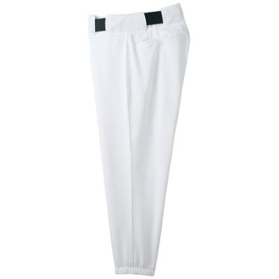 パンツ(ベルトループ型) (91スーパーホワイト)  MIZUNO ミズノ 野球 ウエア ユニフォームパンツ (52PW38791)