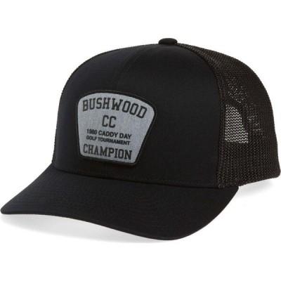 トラビスマシュー TRAVISMATHEW メンズ キャップ トラッカーハット 帽子 Cinderella Story 2.0 Trucker Hat Black