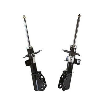 AutoShack ST11175PR Pair of 2 Front Driver and Passenger Side Bare Strut Sh