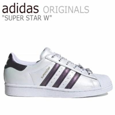 アディダス スーパースター スニーカー adidas メンズ レディース SUPERSTAR W スーパースターW WHITE ホワイト FV3396 シューズ