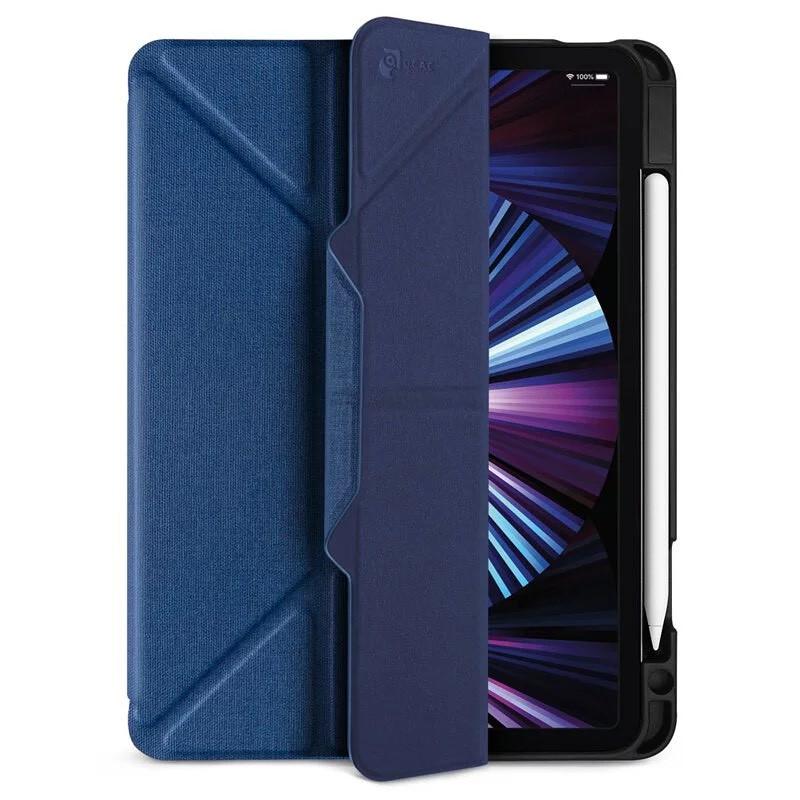 JTLEGEND 皮套 iPad Pro 2021 Amos 11 吋 . 12.9 吋 相機快取多角度折疊布紋 含筆槽