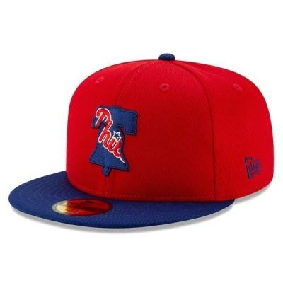 ニューエラ メンズ 帽子 アクセサリー Philadelphia Phillies New Era 2020 Batting Practice 59FIFTY Fitted Hat