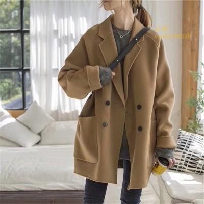 チェスターコート 冬 きれいめ 40代 韓国 オルチャン レディース ストリート アウター 30代 原宿 大人 大きい ジャケット