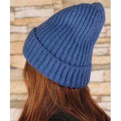 TeddyShop / レディース シンプルゆったりワッチニット帽 WOMEN 帽子 > ニットキャップ/ビーニー
