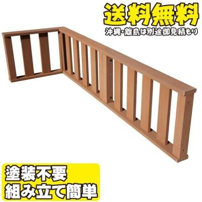 アイウッド デッキフェンス:60系 ナチュラル◯ [3枚セット] アイウッドデッキ60系・アイウッドデッキPLUS60系対応  樹脂 人工木 縁台 濡れ縁
