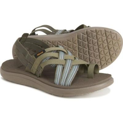 テバ Teva レディース サンダル・ミュール シューズ・靴 voya strappy sandals Antiguous Burnt Olive