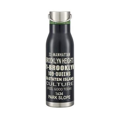 スケーター スポーツボトル 保冷 保温 ステンレス 水筒 ブルックリン 1000ml SSW10N (保冷 保温 ステンレ 1000ml)