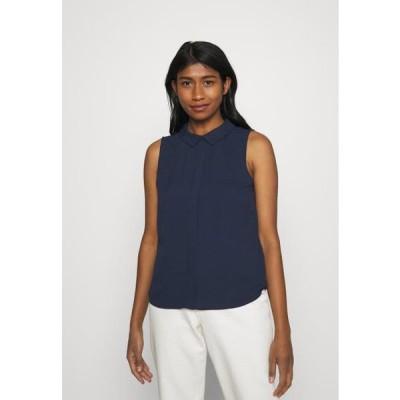 ヴェロモーダ レディース ファッション VMGLORY SHIRT - Blouse - navy blazer