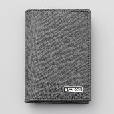 a.testoni ア・テストーニ  カードケース(BUSINESS CARD CASE) メンズ