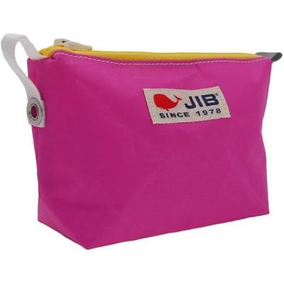 ジブ(JIB) フィンガーポーチ FPO22 (ピンク×イエロー)