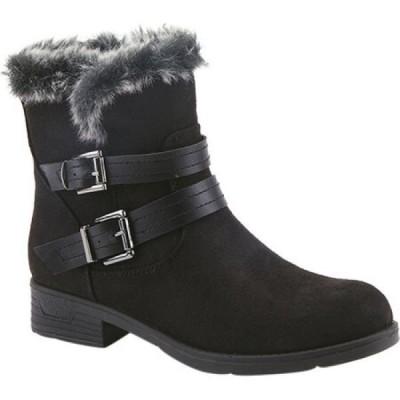 スプリングステップ Flexus by Spring Step レディース ブーツ ショートブーツ シューズ・靴 Clementina Ankle Bootie Black/Faux Fur